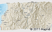 Shaded Relief 3D Map of Mankayan