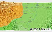 Political 3D Map of Tuao