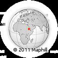 Outline Map of Felhit, rectangular outline