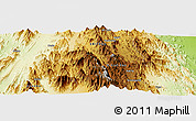 Physical Panoramic Map of Felhit