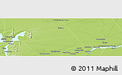 """Physical Panoramic Map of the area around 16°49'43""""N,3°19'30""""W"""