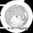 Outline Map of Kolhapur, rectangular outline