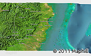 Satellite 3D Map of Lagarto Bank