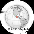 Outline Map of El Gramal, rectangular outline