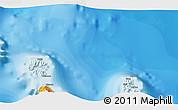 Political 3D Map of Uturoa
