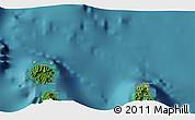Satellite 3D Map of Uturoa