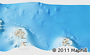 Shaded Relief 3D Map of Uturoa