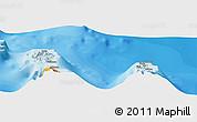 Political Panoramic Map of Uturoa
