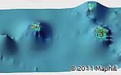 Satellite 3D Map of Vaitape