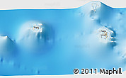 Shaded Relief 3D Map of Vaitape