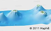 Physical Panoramic Map of Povai