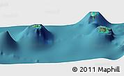 Satellite Panoramic Map of Vaitape