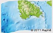 Physical 3D Map of Hounnbank