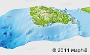 Physical Panoramic Map of Hounnbank