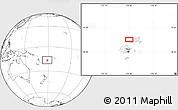 Blank Location Map of Kavula