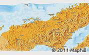Political 3D Map of Lambasa