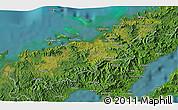 Satellite 3D Map of Koronatonga