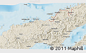Shaded Relief 3D Map of Koronatonga