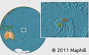 Satellite Location Map of Koronatonga
