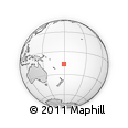 Outline Map of Nambalembale, rectangular outline
