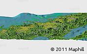 Satellite Panoramic Map of Korotasere