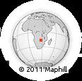Outline Map of Monze Primary School, rectangular outline