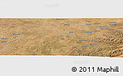 "Satellite Panoramic Map of the area around 16°29'14""S,27°16'29""E"