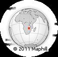 Outline Map of Antelope Island, rectangular outline