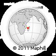 Outline Map of Madiromamy, rectangular outline