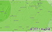 Political Map of Poconé