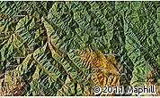 Satellite Map of Aguas Claras