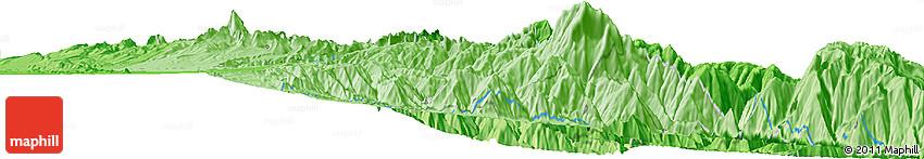 Political Horizon Map of La Paz