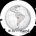 Outline Map of Aygachi, rectangular outline