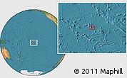 "Satellite Location Map of the area around 16°59'54""S,151°13'29""W"