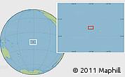 "Savanna Style Location Map of the area around 16°59'54""S,151°13'29""W"