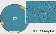 "Satellite Location Map of the area around 16°59'54""S,152°4'29""W"