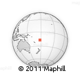 Outline Map of Sisili, rectangular outline