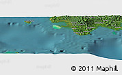 Satellite Panoramic Map of Nasavu