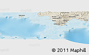 Shaded Relief Panoramic Map of Nasavu