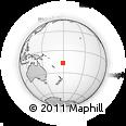 Outline Map of Nandivakarua, rectangular outline