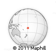 Outline Map of Naleile, rectangular outline