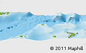 Physical Panoramic Map of Naleile