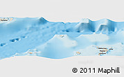 "Shaded Relief Panoramic Map of the area around 16° 59' 54"" S, 179° 16' 30"" W"