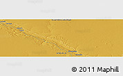 """Physical Panoramic Map of the area around 16°59'54""""S,19°37'30""""E"""