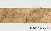 "Satellite Panoramic Map of the area around 16°59'54""S,30°40'29""E"