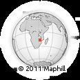 "Outline Map of the Area around 16° 59' 54"" S, 32° 22' 30"" E, rectangular outline"