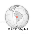Outline Map of Suri, rectangular outline