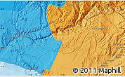 Political Map of Moquegua