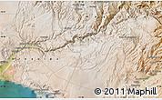Satellite Map of Moquegua