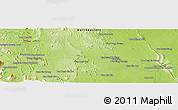 "Physical Panoramic Map of the area around 17° 20' 20"" N, 102° 4' 29"" E"
